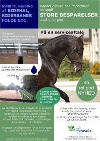 Serviceaftale - kontakt os for yderligere info